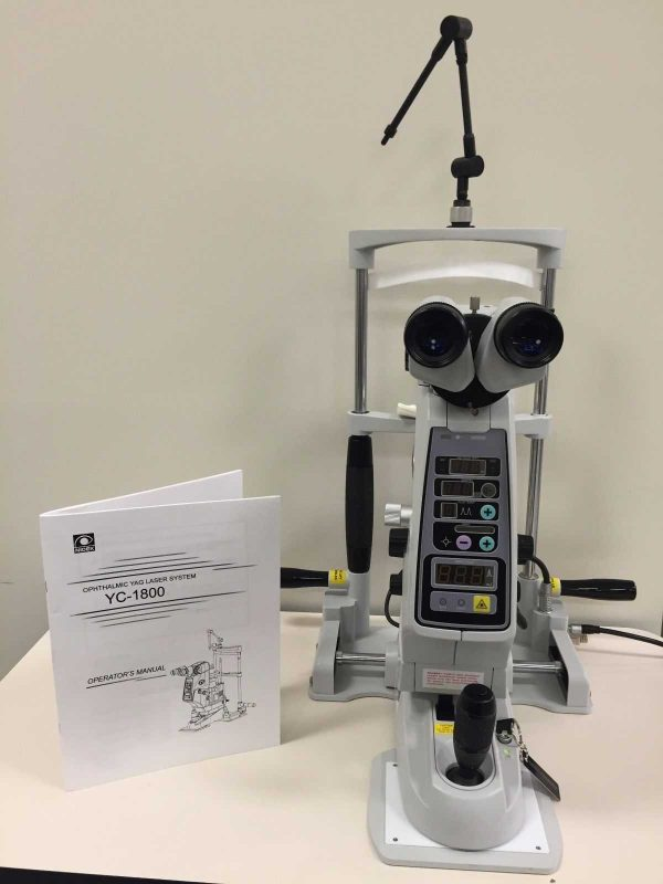 Nidek YC 1800 Ophthalmic Yag Laser