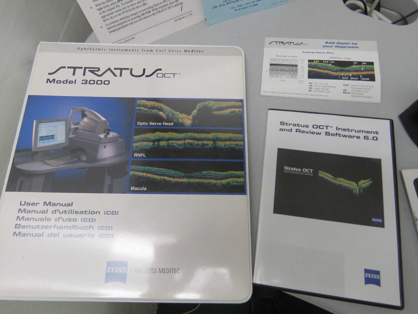 CARL ZEISS Stratus OCT III Tomographer with 7.0 Software