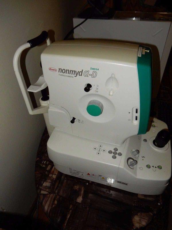 Kowa Nonmyd a-D Non-Mydriatic Digital Fundus Camera