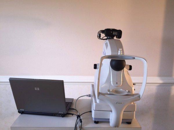 Topcon TRC-NW8 Fundus Camera Non-Mydriatic System