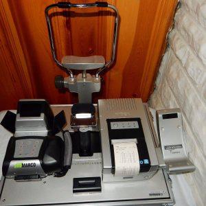 NIDEK ARK-30 Portable Hand Held Autorefractor Keratometer