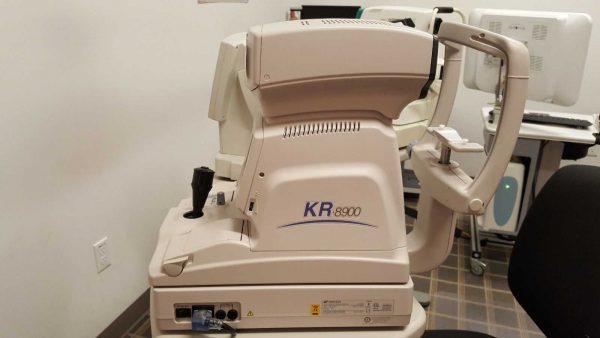 Topcon KR8900 Autorefractor Keratometer
