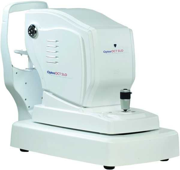 Optos OCT SLO Retina Glaucoma Cornea Analysis