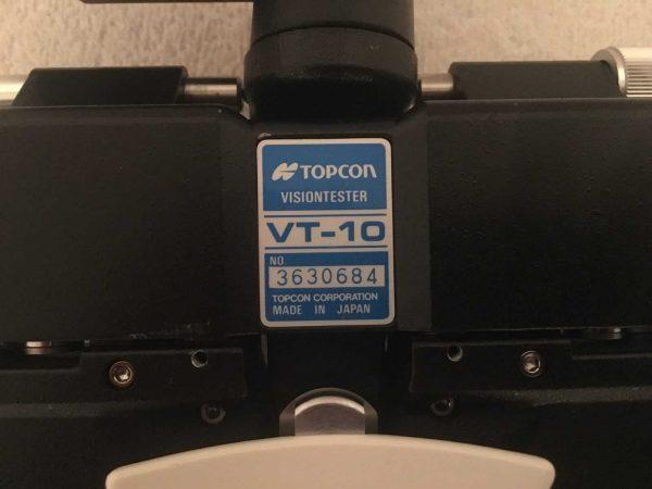 Topcon VT-10 Phoropter Vision Tester