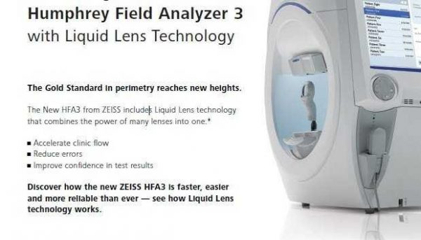 Carl Zeiss Humphrey Field Analyzer 3 (HFA3)